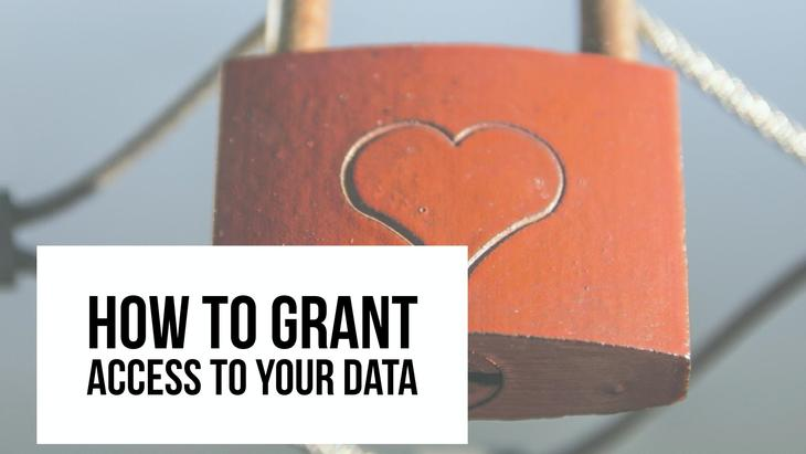 How To Grant Access To Your Accounts
